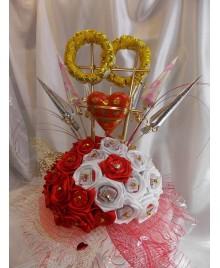 Букет для свадьбы из конфет